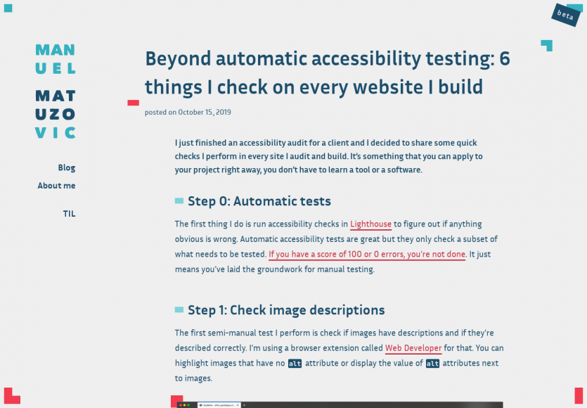 6 points d'accessibilité à vérifier sur chacune de vos pages