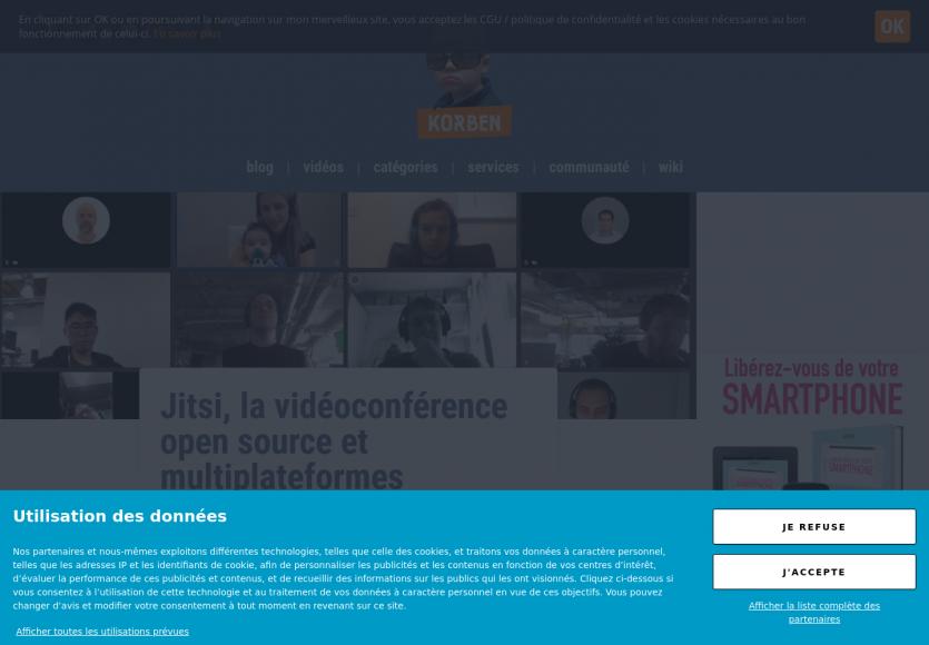 Jitsi : la vidéoconférence open source et multi plateformes
