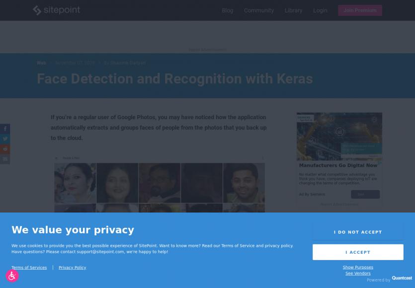 Détection et reconnaissance de visages avec Keras