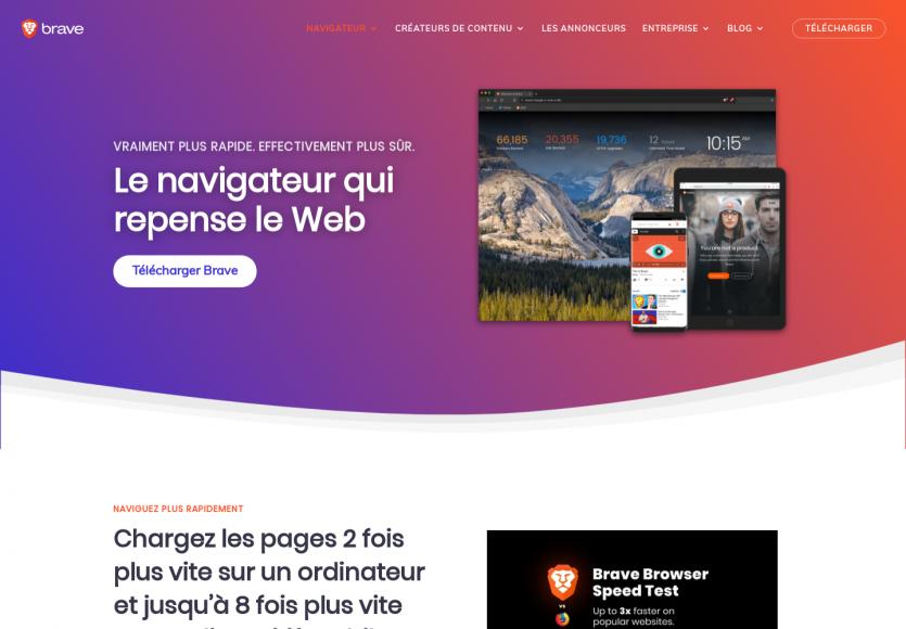 Brave : le navigateur web alternatif rapide et plus respectueux