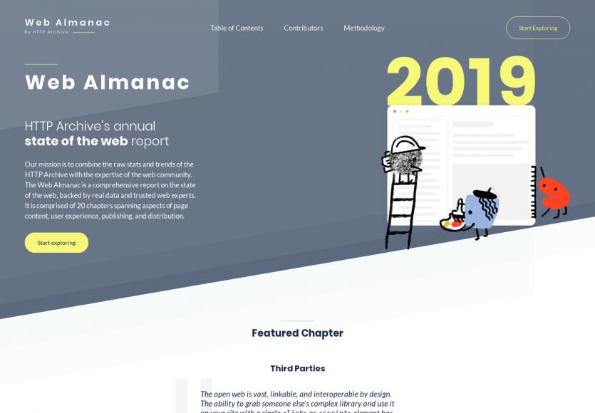 Web Almanac 2019 : le rapport sur l'état du web en 2019 par HTTP Archive