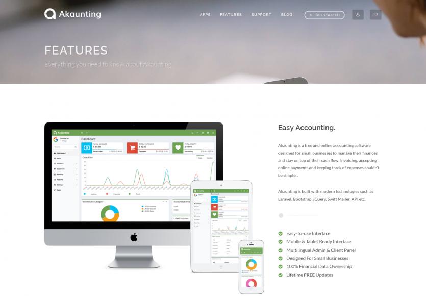 Akounting: une plateforme de facturation open source basée sur Laravel