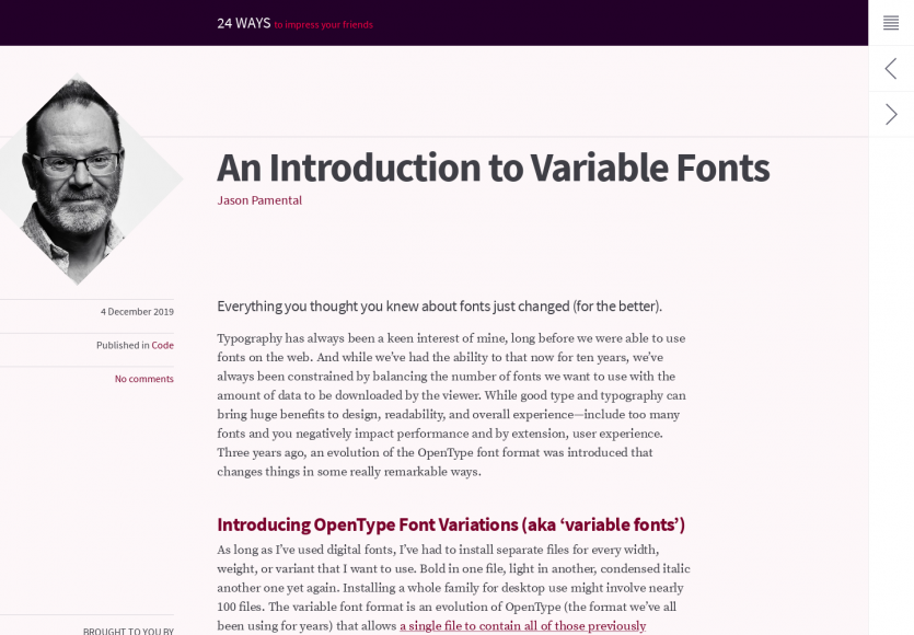 Une introduction aux fonts variables