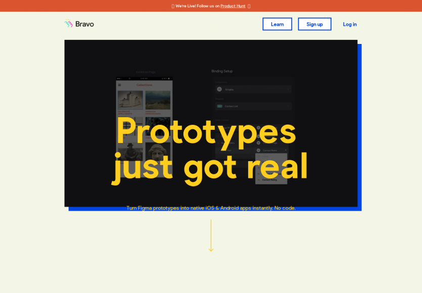 Bravo Studio : un outil pour créer des prototypes mobiles sans code