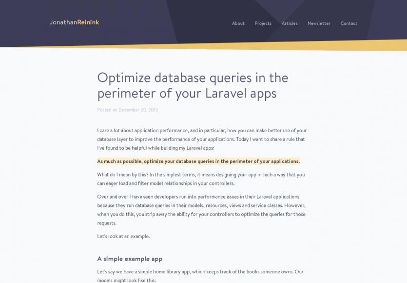 Optimisez les requêtes de vos applications Laravel