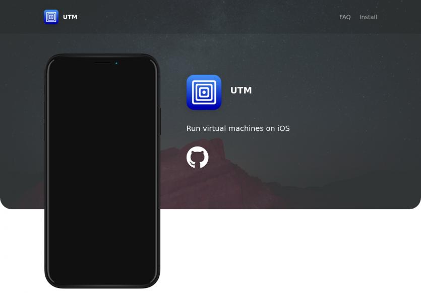 UTM: des machines virtuelles sur iOS pour lancer Windows, Android ...