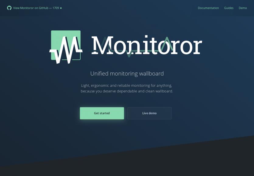 Monitoror : un dashboard de monitoring en Go gérant Github, ping, CI ...
