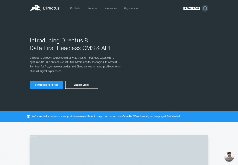 Directus 8 : la plateforme CMS headless PHP en mode Data-First