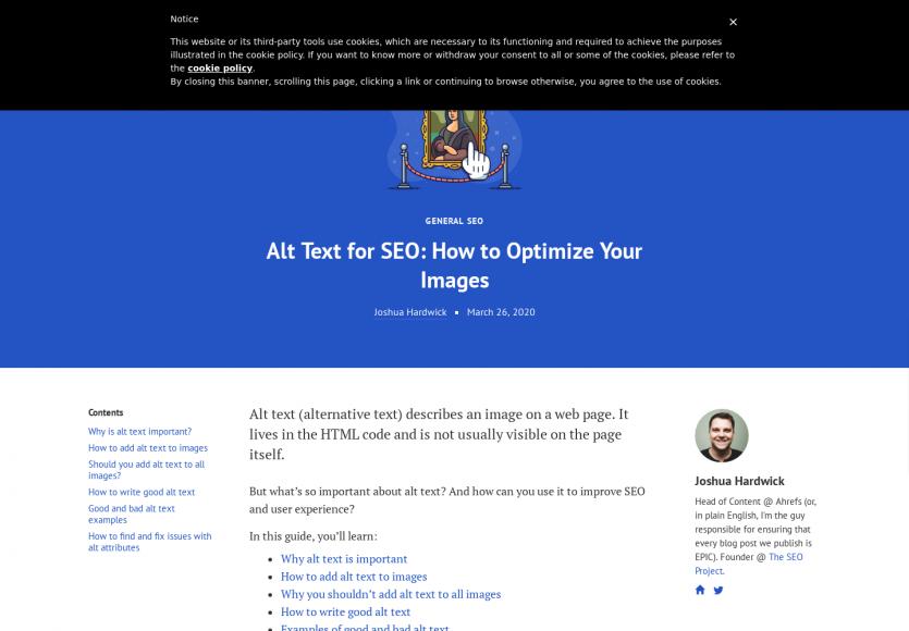 Guide détaillé : comment optimiser les textes Alt de vos images pour le SEO