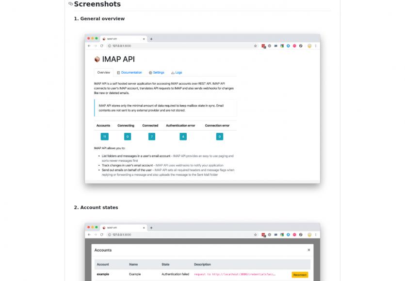 IMAP API : une application open source pour accéder à vos comptes IMAP et SMTP via API