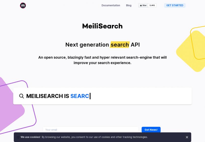 Meilisearch : un moteur de recherche open source rapide avec des fonctions intéressantes