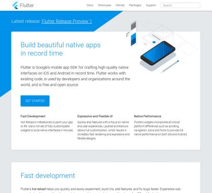 Flutter: Le  framework hybride de Google permettant de créer des applications mobiles natives
