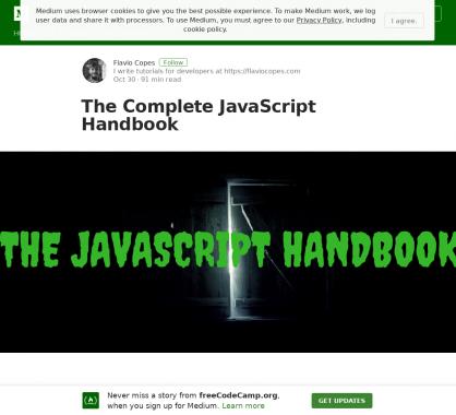 Un guide Javascript complet pour apprendre 80% du langage en 20% de votre temps