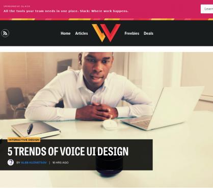5 tendances de Voice UI Design