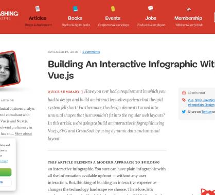 Comment créer des infographies animées avec Vue.js