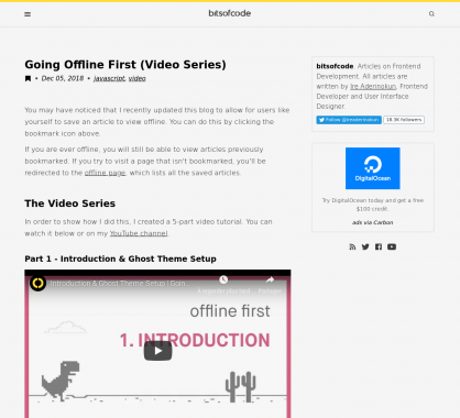 Adopter le Offline-first à travers 5 vidéos tutoriels