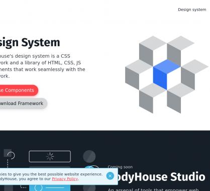 CodyHouse Framework : un framework CSS proposant des composants prêts à emploi pour vos pages web
