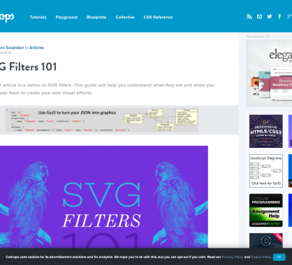 SVG Filters: un guide pour comprendre puis créer ses propres effets visuels en SVG