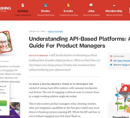 Comprendre les plateformes basées sur des API pour les Product Manager