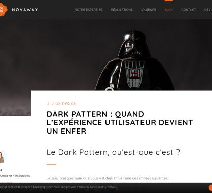 Design : 12 types de dark patterns qui font fuir les utilisateurs