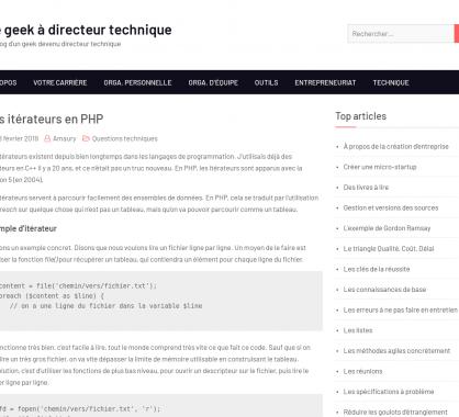 Les itérateurs en PHP