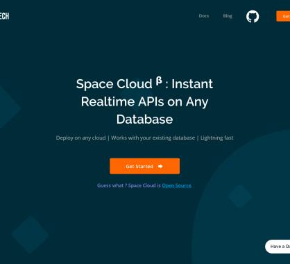 Space Cloud : une plateforme opensource pour créer des API temps réel depuis n'importe quelle BDD