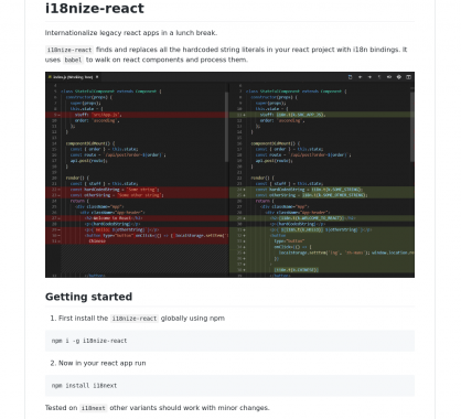 i18nize-react : internationalisez rapidement vos applications React.js