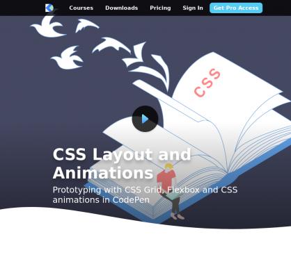 Vidéo : apprendre à manipuler les layouts CSS et animations
