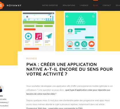 PWA : créer une app mobile native a t-il encore du sens pour tous les projets ?