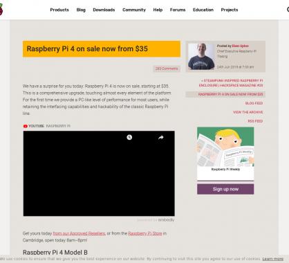 Focus sur le nouveau Raspberry Pi 4