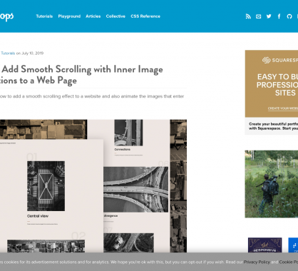 Ajouter un effet de smooth scroll dans ses pages web