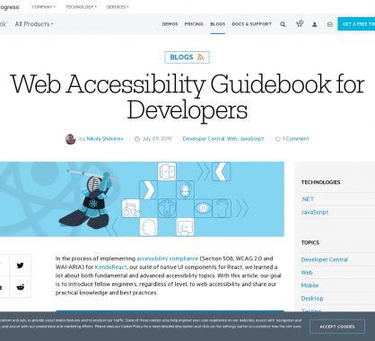 Accessibilité web : un guide complet pour les développeurs