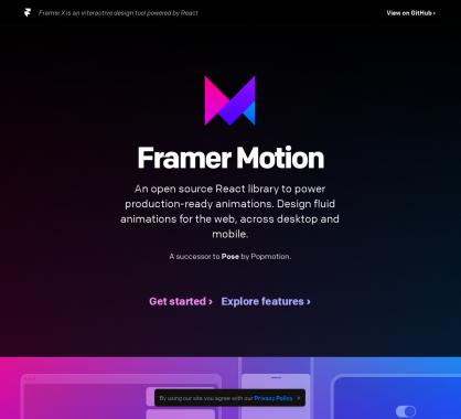 Framer Motion : une bibliothèque React.js d'animations prêtes à emploi