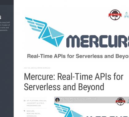 Mercure : des APIs temps réel pour du Serverless et plus