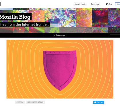 Firefox bloque désormais les cookies de tracking et cryptomining par défaut