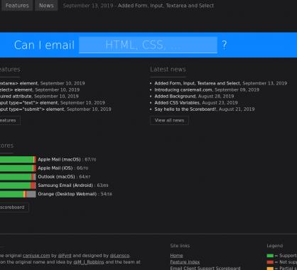 Can I Email : Testez la prise en charge du CSS sur les différents clients emails