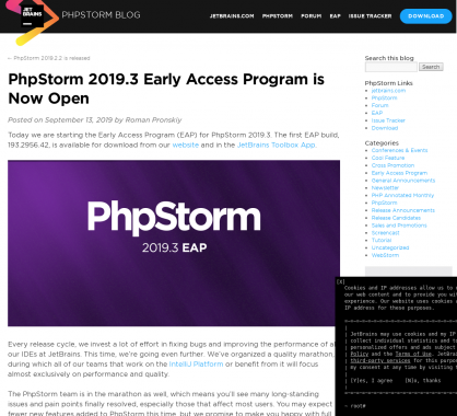 PhpStorm 2019.3 disponible en test avec prise en charge du PHP 7.4