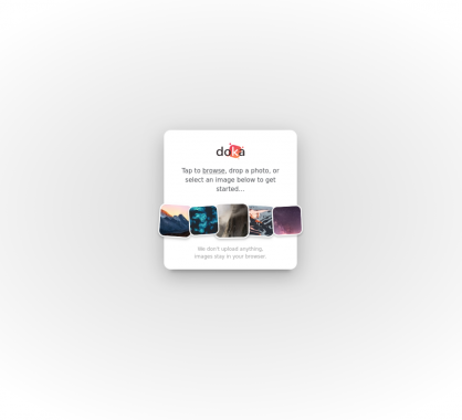 Doka: un éditeur d'images en ligne moderne et efficace