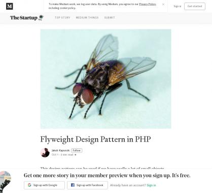 Le design pattern Poids-Mouche (Flyweight) en PHP