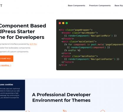 Flynt: une base de thème WordPress avec composants pour créer vos propres thèmes