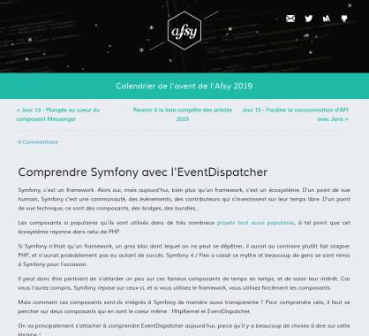 Comprendre Symfony avec l'EventDispatcher