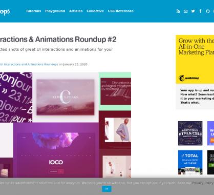 Des exemples d'animations et transitions modernes pour vos pages web