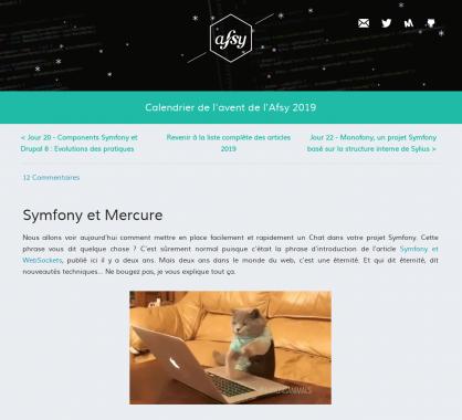Créer un chat avec Symfony et Mercure