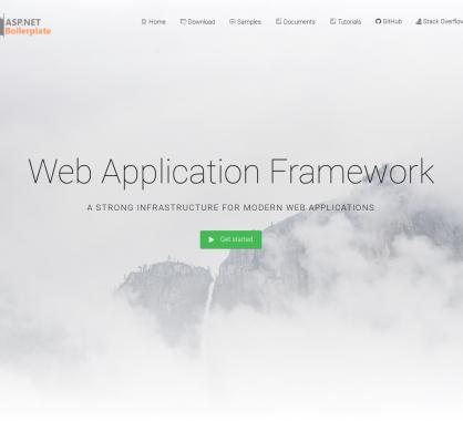 ASP .NET Boilerplate: un boilerplate avec bonnes pratiques de développement pour app web modernes