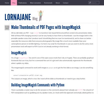 Créer les images miniatures de vos PDF avec ImageMagick