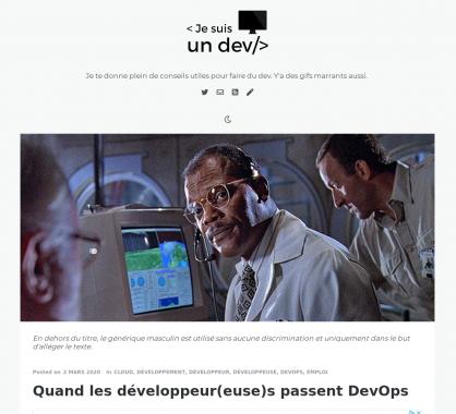 Quand les développeurs passent DevOps