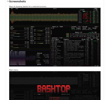 Bashtop : un outil de monitoring de vos processus et ressources linux